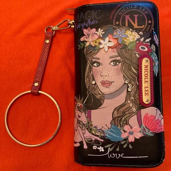 New Nicole LEE Wristlet Wallet